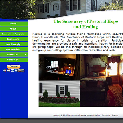 The Sanctuary of Pastoral Hope and Healing