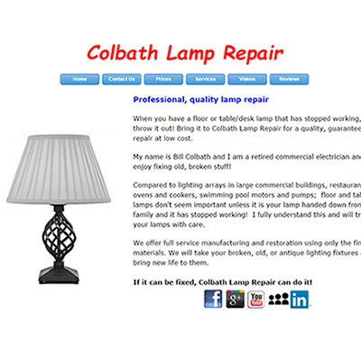 Colbath Lamp Repair